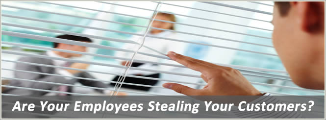 Employee Stealing Customers Image